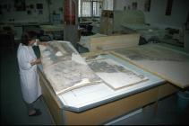 Snapshot: conservating a wall painting
